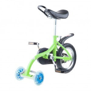 Kids Unicycle Mini Balance Bicycle Outdoor Bike - Green