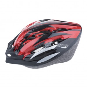 Kids Bike Helmet Lightweight Solid - Red
