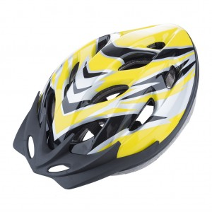 Kids Bike Helmet Lightweight Solid - Yellow