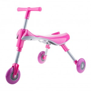 Toddler Kids Foldable Tricycle - Pink