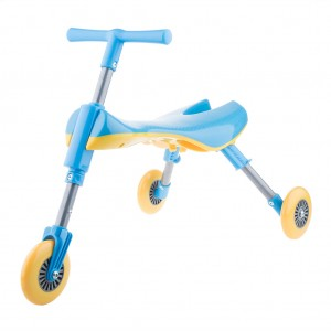 Toddler Kids Foldable Tricycle  - Blue