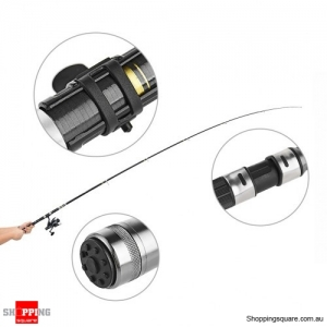 3m Portable Telescopic Fishing Rod and Spinning Reel