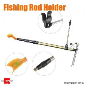 1.1m Portable Aluminum Telescopic Fishing Rod Holder