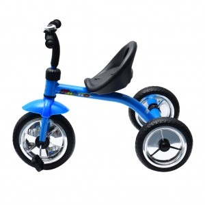 Kids 3 Wheel Tricycle Bike with Bell - Blue