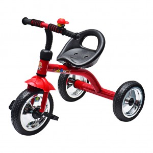 Toddlers Kids 3 Wheel Bike Tricycle with Bell - Red