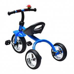 Kid Trike Bike with Bell Outdoor Fun Royal
