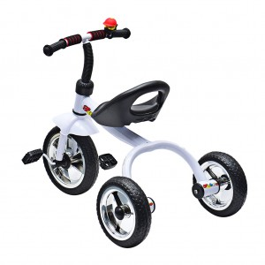 Kid Trike Bike with Bell Outdoor Fun White