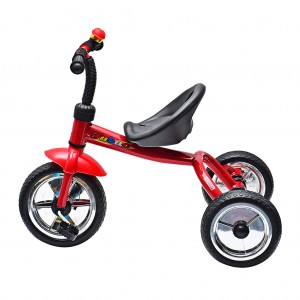 Kid Trike Bike with Bell Outdoor Fun Red