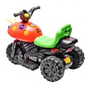 Kids Electric Beetle Motorcycle Motor Bike Car Toy