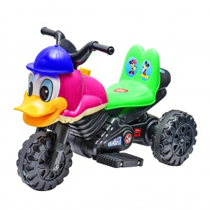 Electric Motor Bike Kids Motorcycle Toy Car Lovely Duck