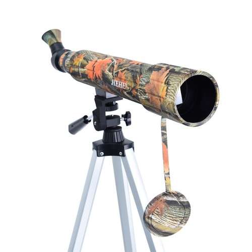 Camouflage Color Spotting Scope Birding Telescope with Tripod