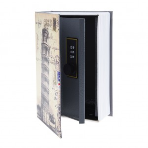 Hollow Book Safe Security Box With Code Lock