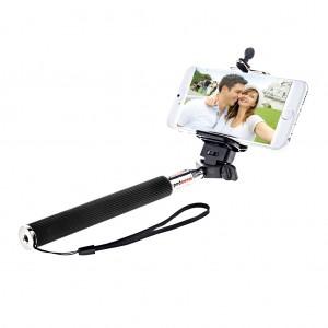 Extendable Monopod Handheld Selfie Stick Black