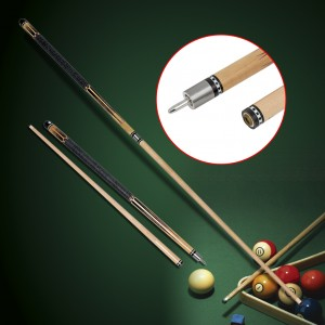 Detachable American Wooden Maple Pool Cue