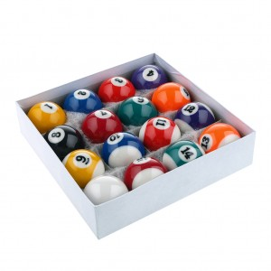 Premium Resin Pool Ball Set 15 Numbered Balls