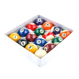 "2.25"" Premium Resin Billiard Pool Ball Set"
