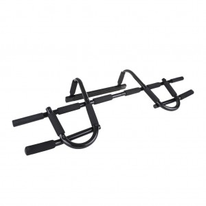 Door Multi-Gym Makeshift Upper Body Workout Bar for Health Builder Exercise Sport Black Colour