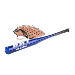 "28"" Baseball Set with Batting Glove Baseball Equipment - Blue"
