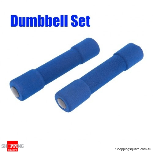 1.2lbs Sponge Coated Dumbbell Set