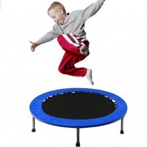 "(Pick-up only) 36"" Mini Trampoline Jogging Exercise Rebounder - Blue"