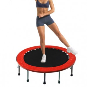 60 Inch Mini Trampoline Jogging Exercise Rebounder Red