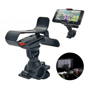 360° Adjustable Bike Phone GPS Mount Holder for Mobile Camera
