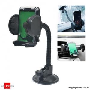 Adjustable Car Mount Holder Windshield Mount for iPhone Samsung