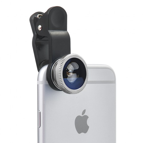 3 in 1 Universal Clip-On Phone Camera Lens Kit