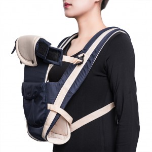 Ergonomic Baby Carrier Ultra-soft Baby Infant Wrap Carrier - Navy