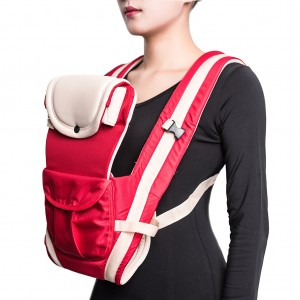 Ergonomic Baby Carrier Ultra-soft Baby Infant Wrap Carrier - Red