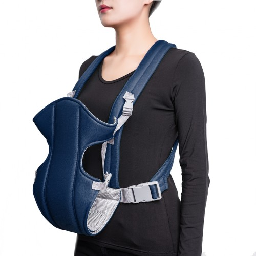 Baby Carrier Breathable Soft Wrap Carrier - Navy