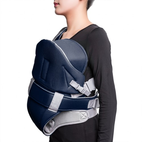 Baby Carrier Ultra-soft Baby Wrap Carrier - Navy (OEM)