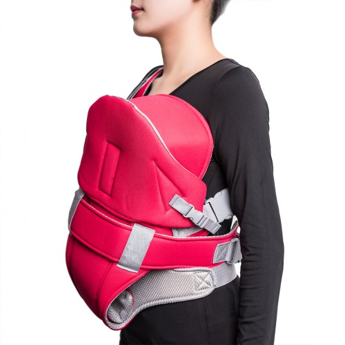 Baby Carrier Ultra-soft Baby Wrap Carrier - Red