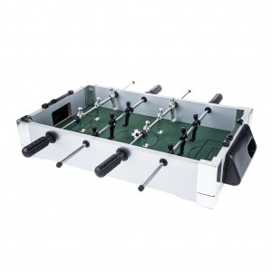 20 inch Wooden Foosball Table Football Game Indoor School Family Kids Toy
