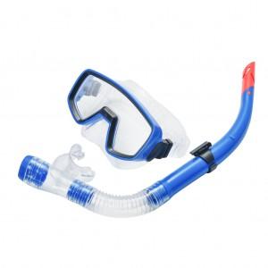 Snorkeling Mask Anti Fog Snorkel Set Royal