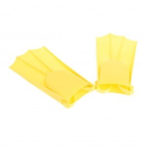 Adjustable Swim Fins Flippers for Kids Learn to Swim Yellow