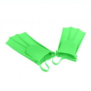 Adjustable Swim Fins Flippers for Kids Learn to Swim Apple Green