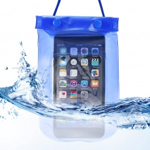 Waterproof Bag Case Pouch Dry Bag for All Mobile Phone-Royal
