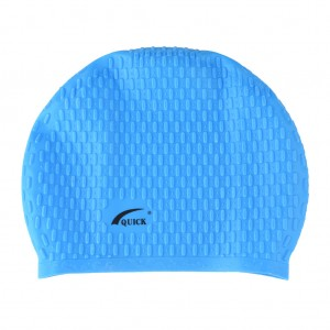 Bubble Swimming Unisex Cap-Turquoise