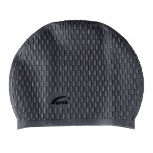 Bubble Swimming Unisex Cap-Black