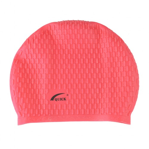 Bubble Swimming Unisex Cap - Red