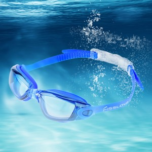 Mirrored Swimming Goggles UV Protection Safety Goggles Royal