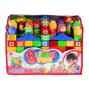 Building Blocks Construction Toys for Kids 65-piece Set