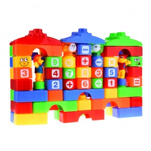 Building Blocks Educational Stacking Toy Set of 66 Piece