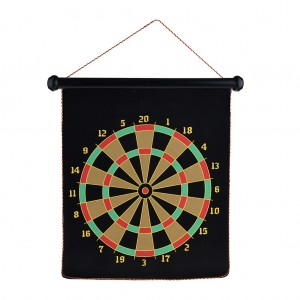 "13"" Magnetic Flannel Dart Board Set"