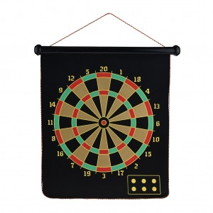 "14"" Magnetic Flannel Dart Board Set"