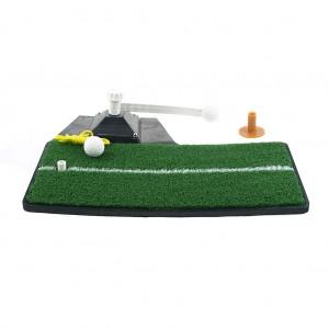 Home Office Indoor Golf Training Aids Mat Golf Simulator Swing Pad