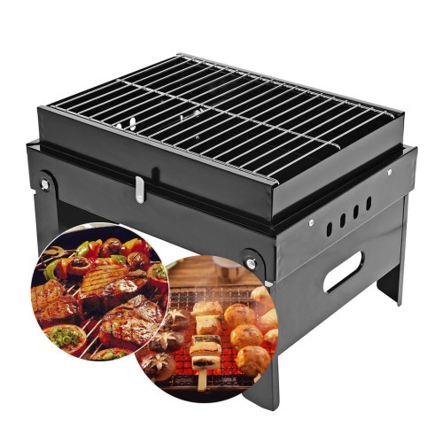 17 5 inch foldable charcoal grill online shopping