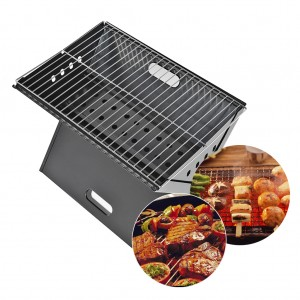 19 inch Portable Foldable Outdoor BBQ Charcoal Grill