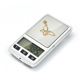 200g/0.01g Pocket Digital Jewelry Scale with LCD Display